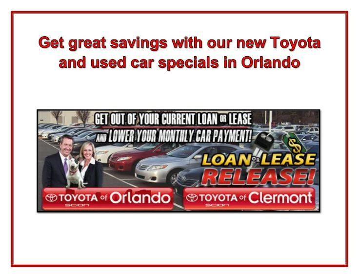 Car Lease Specials Orlando