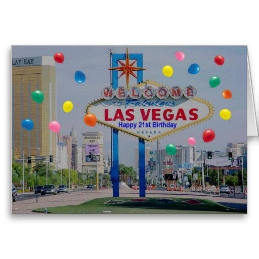 17 Best Images About Las Vegas Birthday Cards On Pinterest
