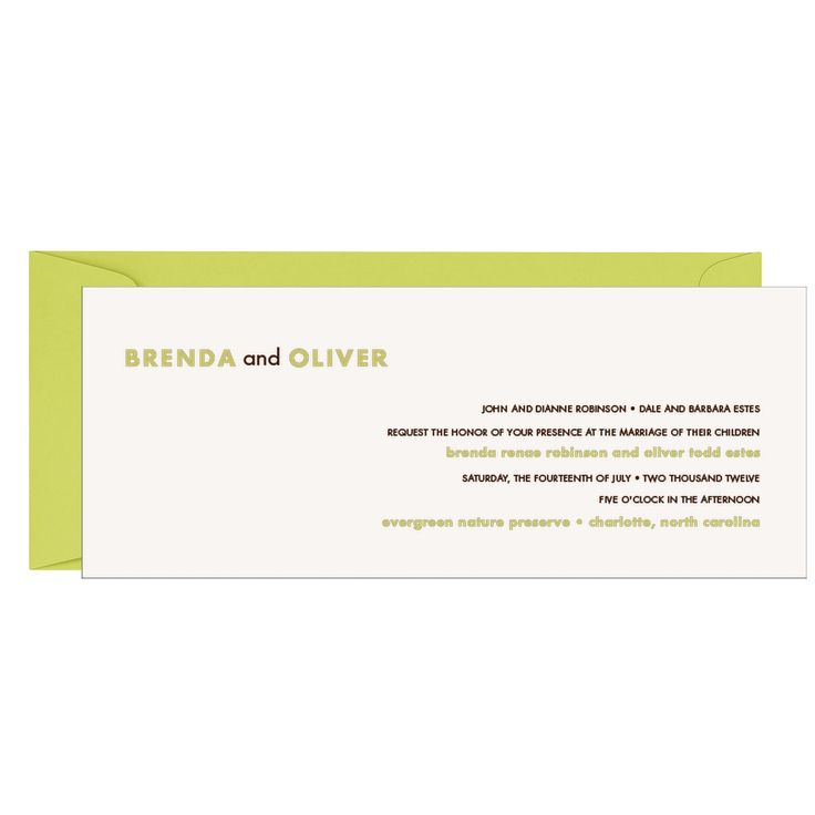 A-10 envelopes for wedding invitations