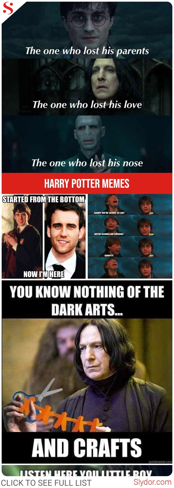 Harry Potter Memes – Only A True Potterhead Can Understand