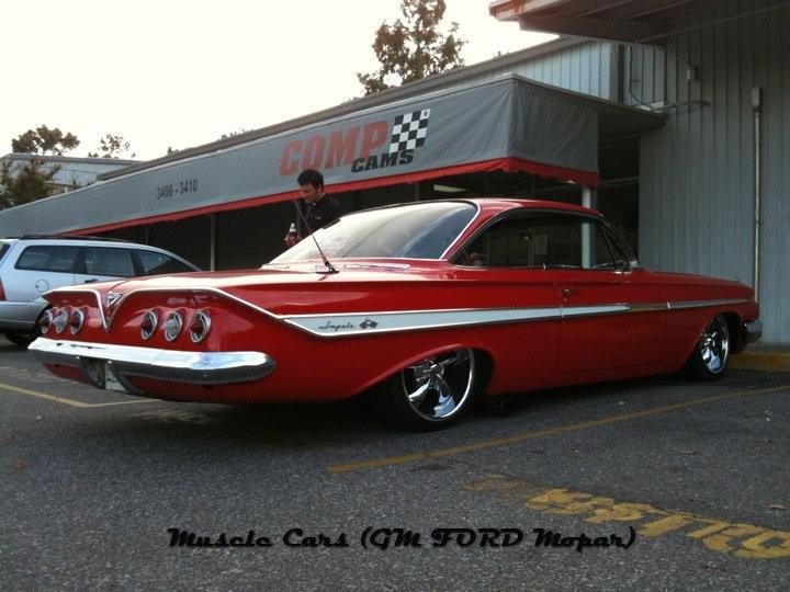 '61 Chevy Bubble Top