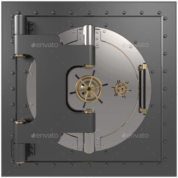 Vault Door. 3D