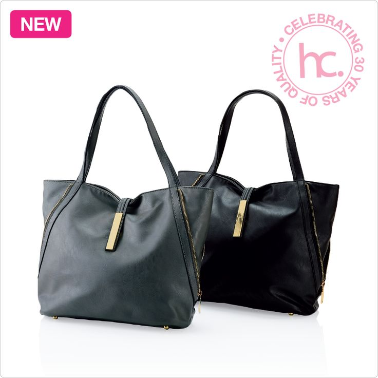 New Miranda ladies handbag From R699 cash or only R88 a month! Available in black and grey  Shop now >> http://www.homechoice.co.za/Fashion/Handbags/Miranda.aspx
