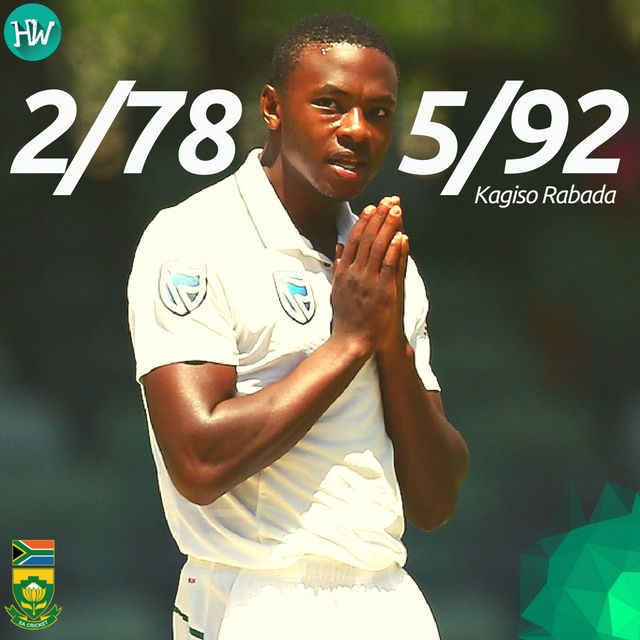 A fantastic bowling effort by Kagiso Rabada helped South Africa triumph in the 1st Test match. #AUSvSA #AUS #SA #cricket
