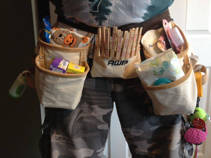 Daddy Diaper Duty Belt Shower Gift For The Dad To Be