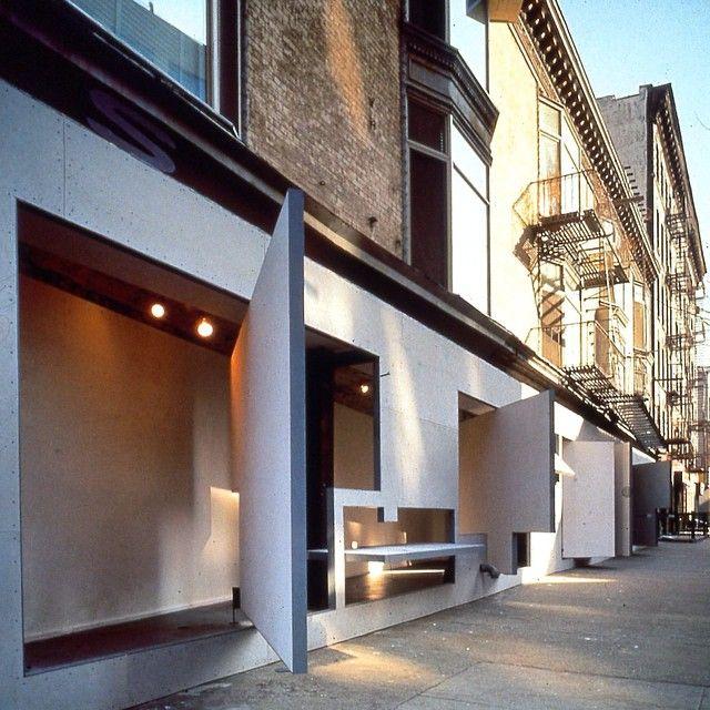Storefront for Art and Architecture: original installation. #custom_metalfab…