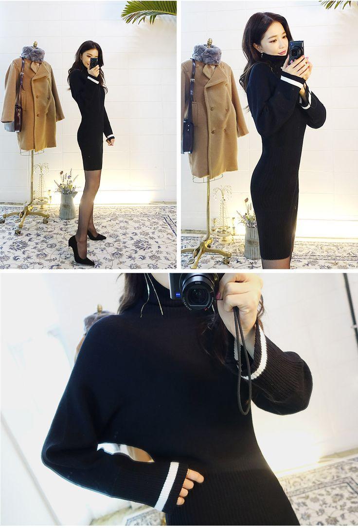 CHUU Pola Sweater Bodycon Dress – Somethin' Sweet