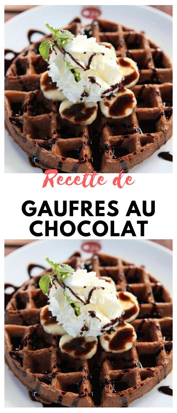 #gaufres #chocolate #dejeuner