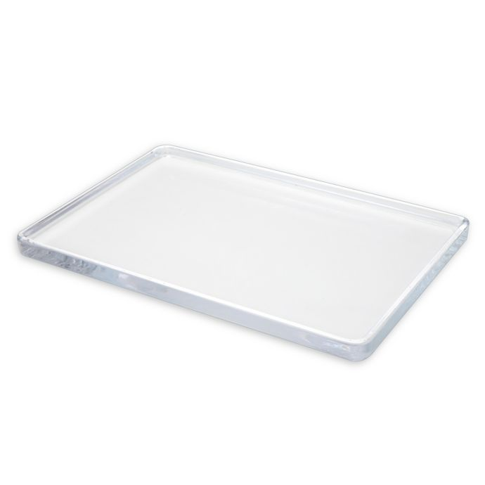Chelsea Large Glass Vanity Tray With Images Glass Vanity