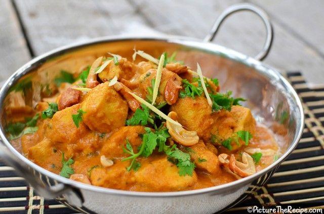 Cashew Chicken Curry (Chicken Korma)