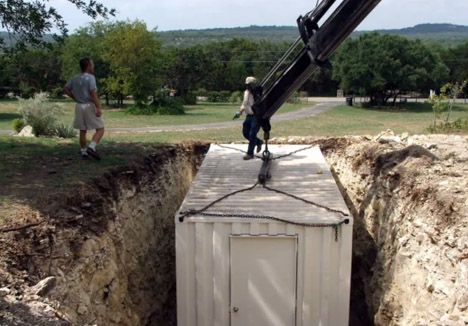 Shipping Container Bunker how to (where I live has frequently has really nasty weather, along with droughts for the past decade which has harmed our trees)