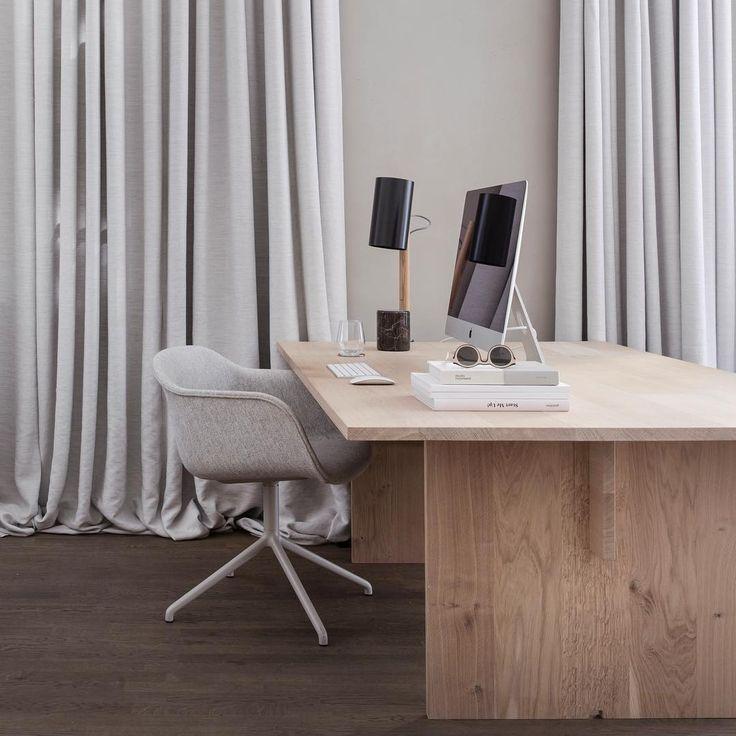 Bespoke table at Kinfolk Office, Copenhagen - Oak by Dinesen