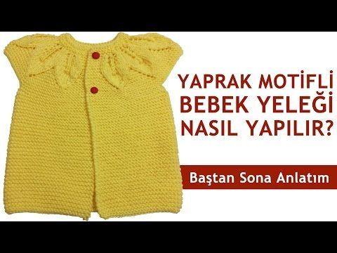 Fırfır Robalı Bebek Yeleği Detaylı Anlatımı - YouTube