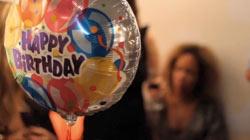 Surprise birthday party and exhibition video.  Video de fiesta de cumpleaños y exposición sorpresa.  Videos de eventos en Barcelona  www.bertaheads.com