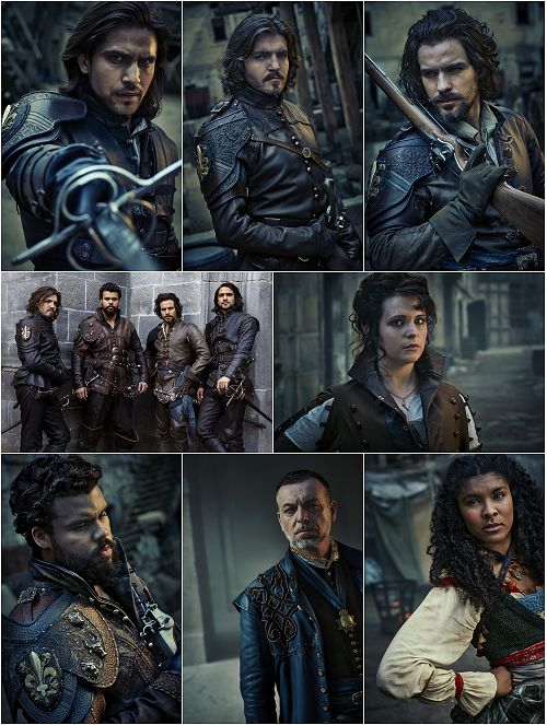 The Musketeers Daily : Photo