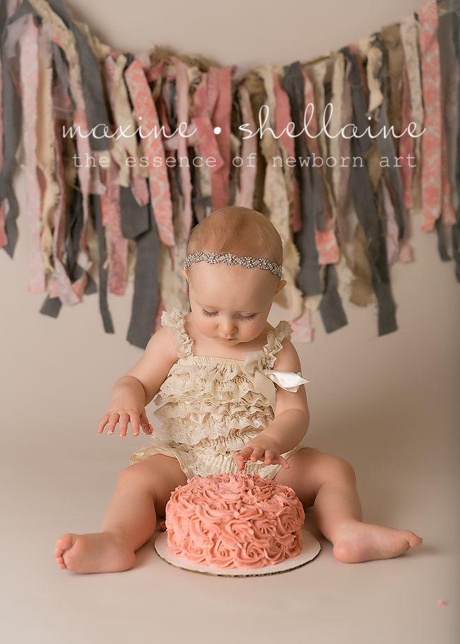 Alt=One Year Old Cakesmash, Alt=Best Edmonton Newborn Photographer, Alt=Pretty Girl Cakesmash, Alt=Pink Smash Cake, Alt=burlap banner