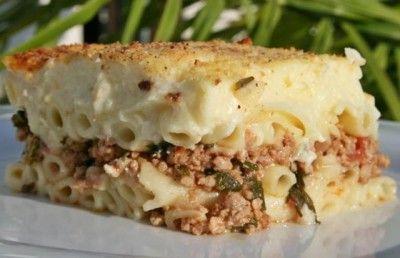 Pastitsio - Görög rakott tészta