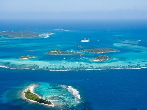 Tobago Cays and Mayreau Island, St. Vincent and the Grenadines