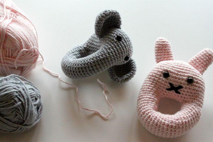 frøkenen & baronen: En elefant og en lyserød kanin