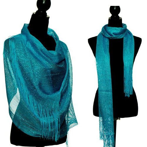 Sparkle Shawl wrap scarf gifts for ladies