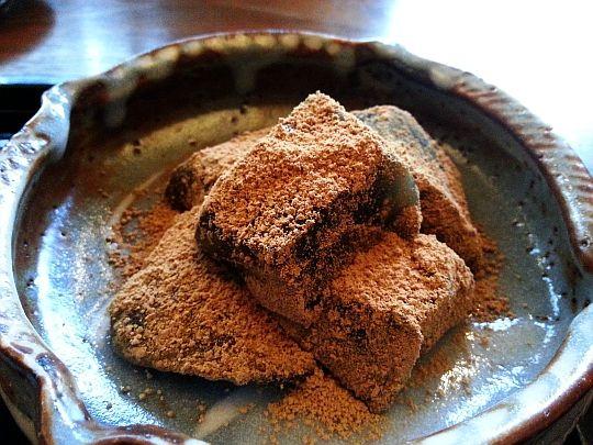 Warabimochi Wakuden,Kyoto,Japan 京都 紫野和久傳堺町店 茶菓席 わらびもち