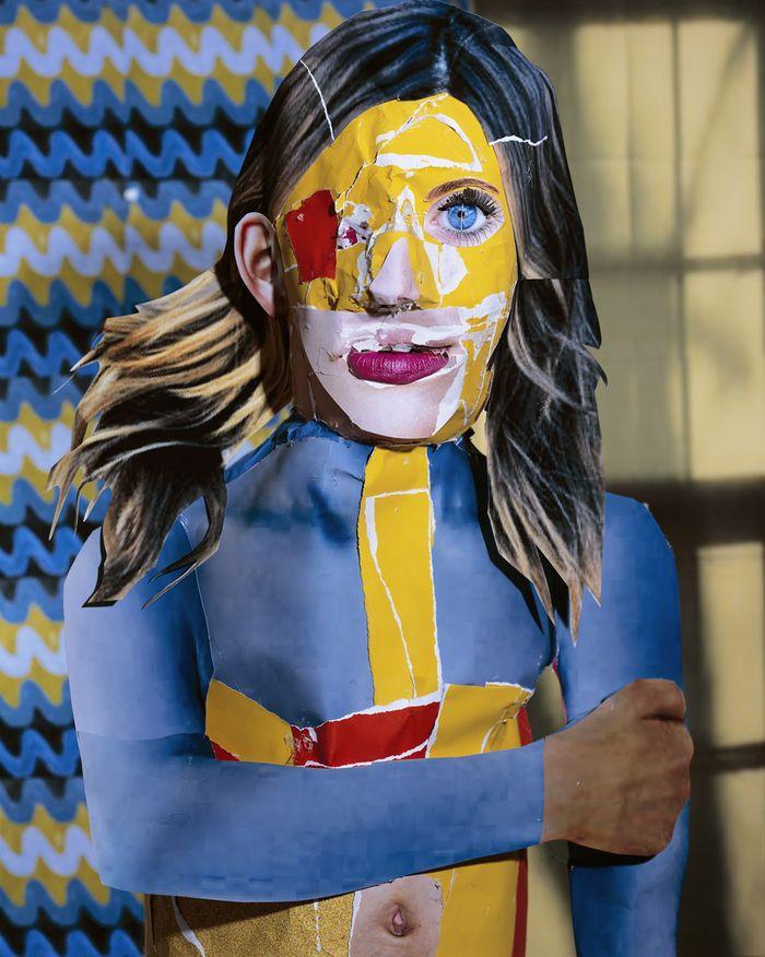 © DANIEL GORDON - Winner Paul Huf Award 2014 - Portrait in yellow orange and blue, 2012 -