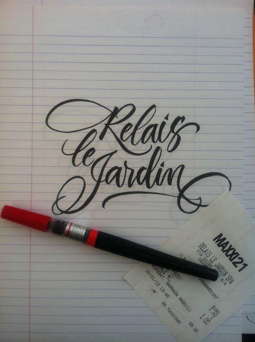 Relais Le Jardin by Barbara Calzolari.