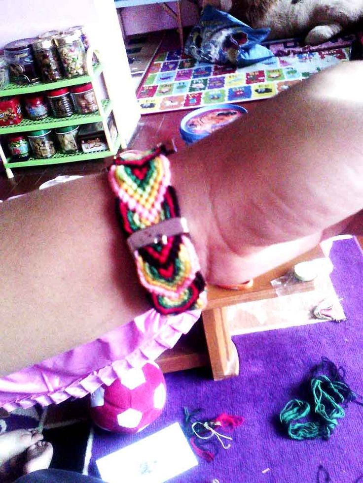 Back side #friendship #bracelet
