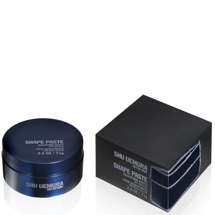 <p>A sculpting putty with workable hold, SHU UEMURA ART OF HAIR Shape Paste delivers lasting style memory, structure, moldability and definition. It's ideal for accentuating, twisting and shaping strong sculpted styles with a demi-matte shine.</p> <p>A member of the SHU UEMURA ART OF HAIR Create group, Shape Paste is one of the powerful design tools that make up The Art Of Style range, helping to protect from heat, humidity, UV rays and environmental aggressors.</p> <p>Directions of use:</p…