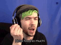 You can't just see the passion on his face when he talks about it XD