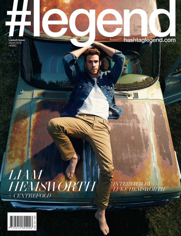 Liam Hemsworth Covers #legend, Talks Independence Day 2