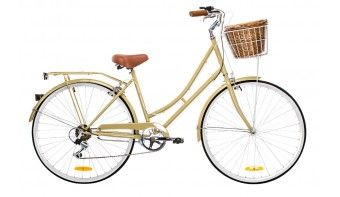 Dutch Vintage Ladies 7-speed Deluxe Coffee