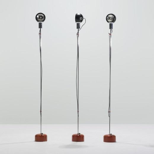 Floor lamp by Angelo Lelli, 1968.