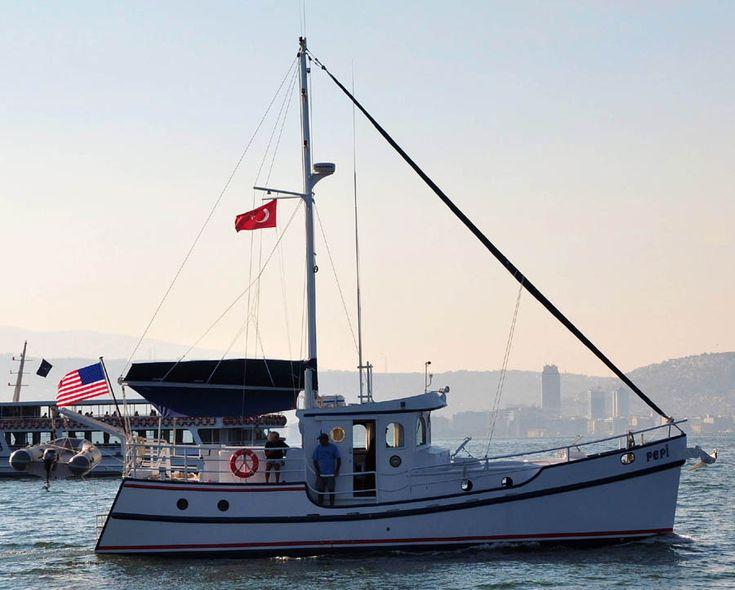 Diesel Duck 41 built in Izmir,Turkey
