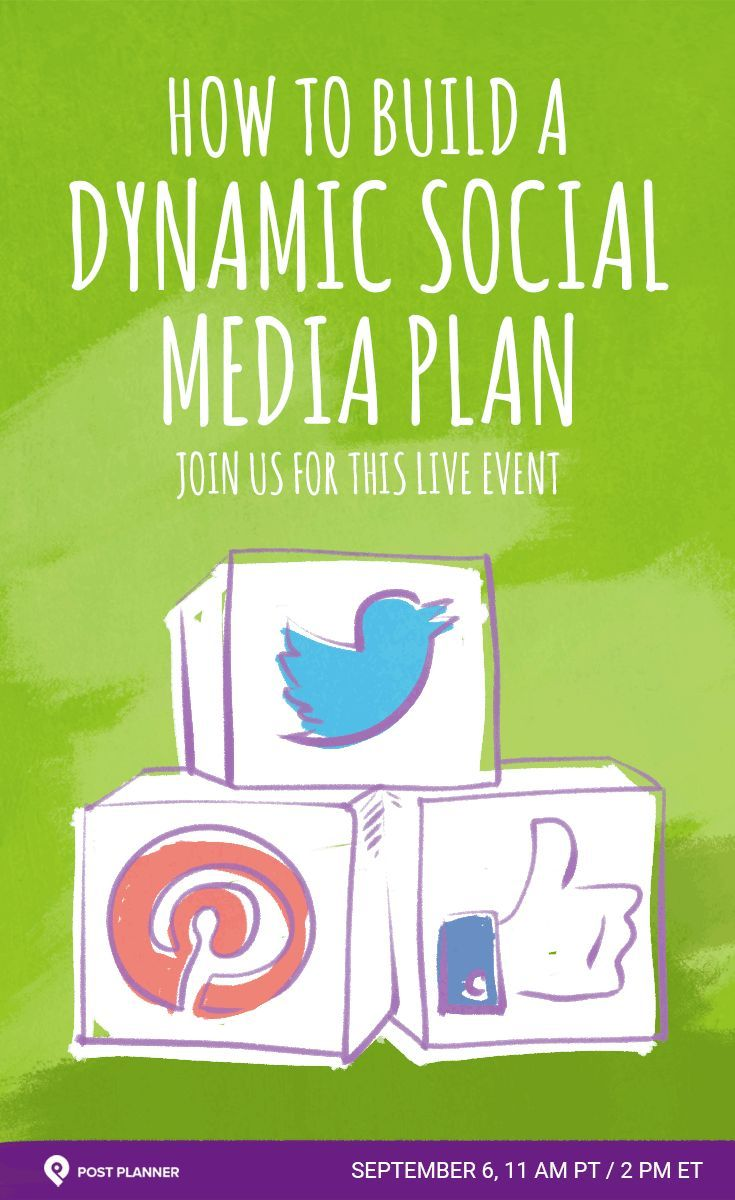 Ready to Build a Dynamic Social Media Plan?  We're going LIVE on Sept 6th to share value-packed tips that can help you make the right social media decisions!  Joining us is the lovely KatieLance!  Don't miss your chance to grab your spot!  pla.nr/dynamic-social-plan