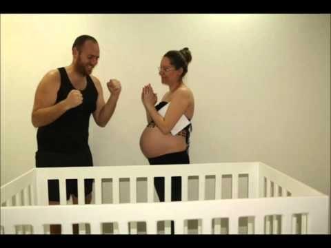 9 months Pregnancy Stop Motion Video (deaf)