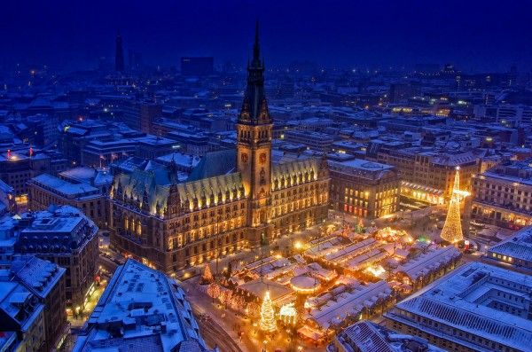 Hamburg Christmas Market, Germany. Going back, can't wait!