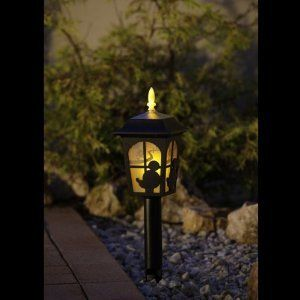 Mickey Mouse front yard walk way torches