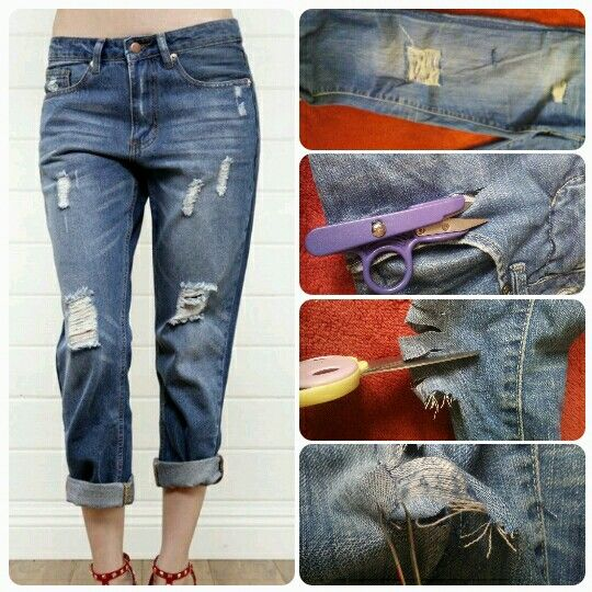 DIY Pantalon Boyfriend