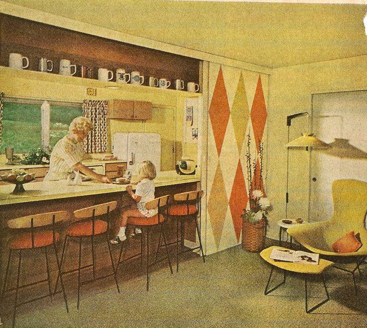 1248 Best Mid Century Images On Pinterest: 252 Best Images About Original Vintage Midcentury Interior