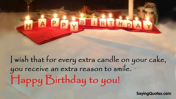 This post will show the collection of 20+ Best Birthday Quotes, Sayings, Wishes and Messages with nice birthday song background. Birthday is one of special days in every one's life when people celebrates their birth, often with gifts, parties and meeting each other. You might look for some birthday messages & wishesfor them.This collection of …