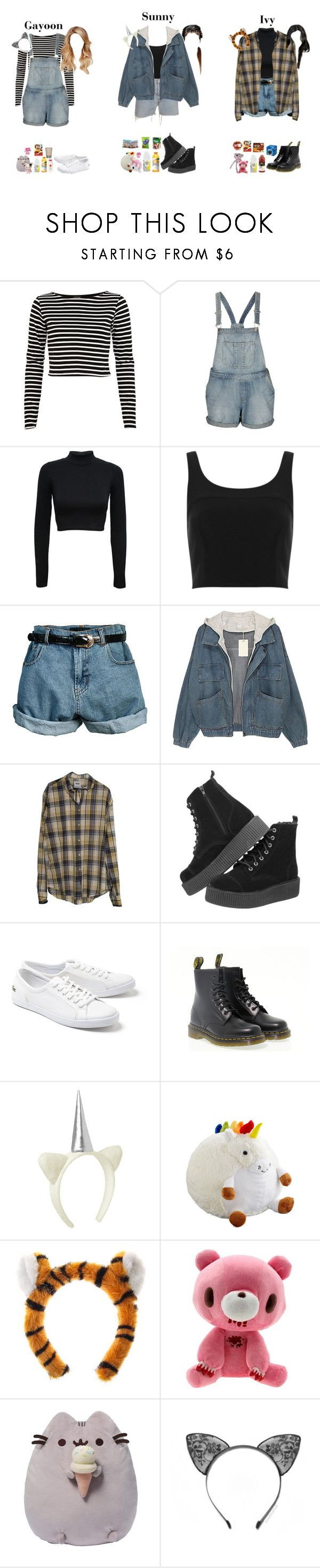 """""""  Siren   1st Fan Meet — Part One"""" by pc-pink ❤ liked on Polyvore featuring River Island, Topshop, Levi's, Retrò, Lacoste, Dr. Martens, Gymboree, Aventura and Gund"""