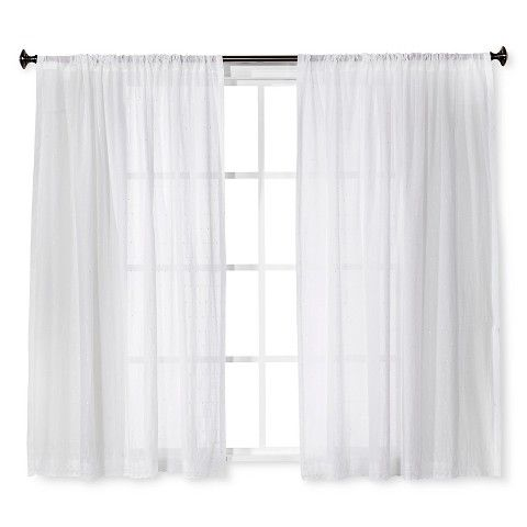 Simply Shabby Chic® Curtain Panel - 1 Panel for Master Bath
