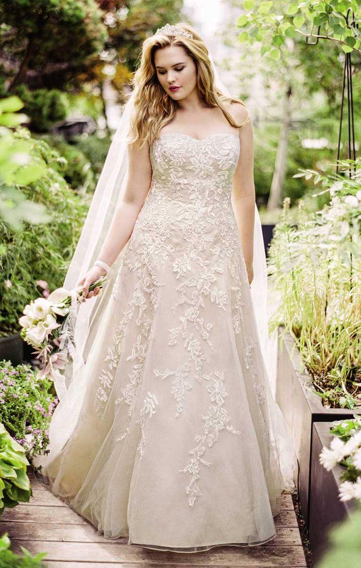 plus size wedding dresses - HD768×1210