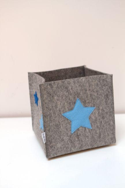 Mand STAR: leuke accessoire voor de baby- en kinderkamer. Verkrijgbaar in diverse kleuren en maten!