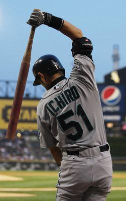 Ichiro Suzuki. Mariners.