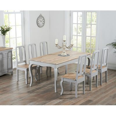 Miller Dining Table and 6 Chairs | Wayfair UK