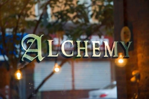 Alchemy Restaurant in Brooklyn: We feature a small, creative menu, with an outstanding selection of tap beer, wine, & cocktails. The dark wood, refurbished antique bar, exposed brick, & friendly service combine to create a welcome atmosphere where you can enjoy anything from a relaxed pint to a four course meal.