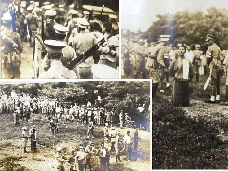 Not the Nanking Massacre, but more Chinese chop-chop. The top image shows Chinese soldiers with prisoners on the way to the execution grounds, two are carrying large dadao (broadswords) on their backs. (notice the large tasseled handles) You can see the broad blade of the sword in the image to the right. China has tried so hard to blame their atrocities on the Japanese, but have failed miserably.