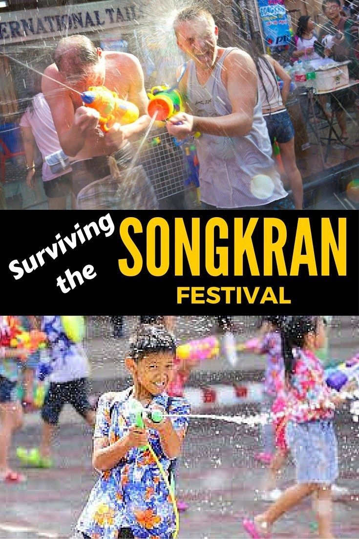 Everything you need to know to survive Songkran festival in Thailand or Laos fittwotravel.com: